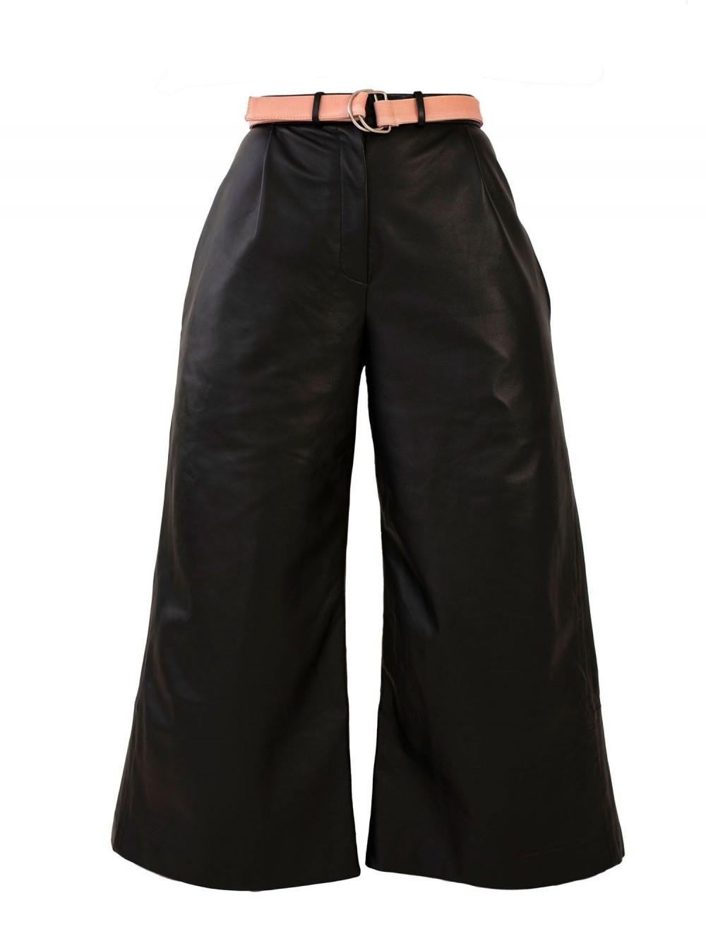 Leather Culottes | S.O.L.I.T.U.D.E