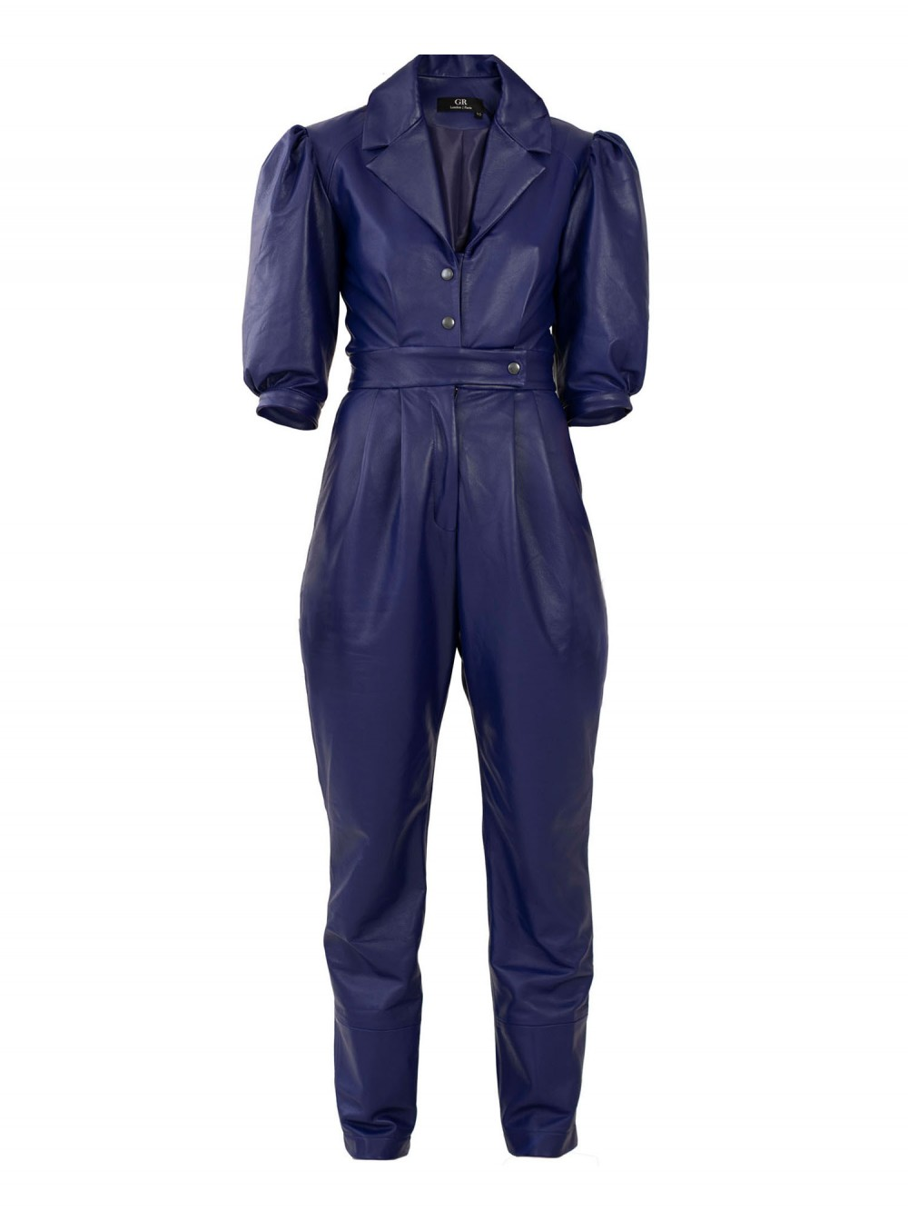 Tailored Leather jumpsuit   A.L.O.N.E