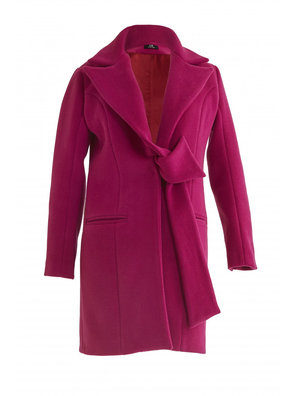 Single breasted belted coat    Fanati-sta