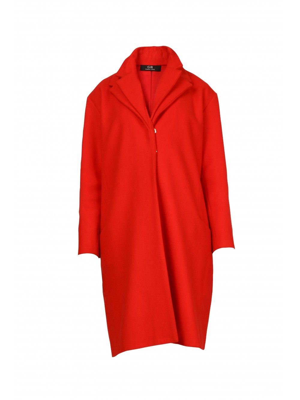 Contemporary Double Collars Coat | Naje