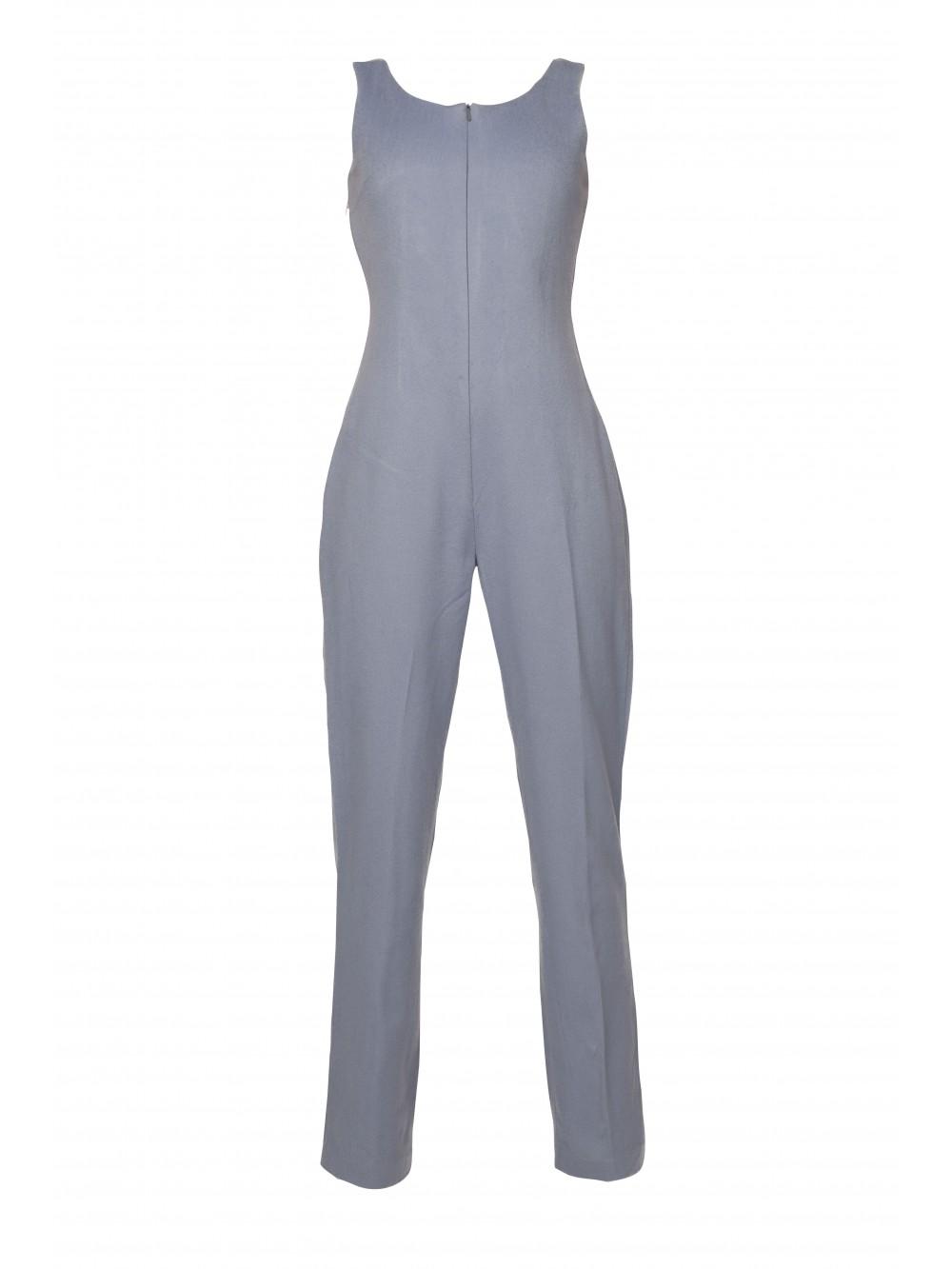 Zippered Jumpsuit | Neloumta