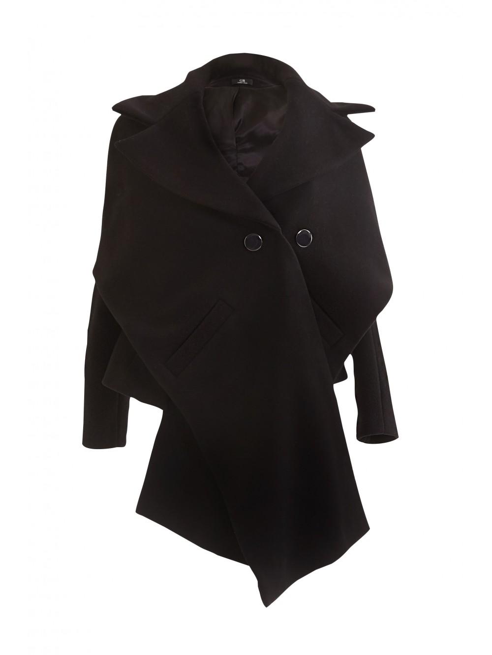 Contrasting panel coat | Climati-sta