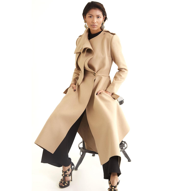 Layered trench coat  | Populi-sta